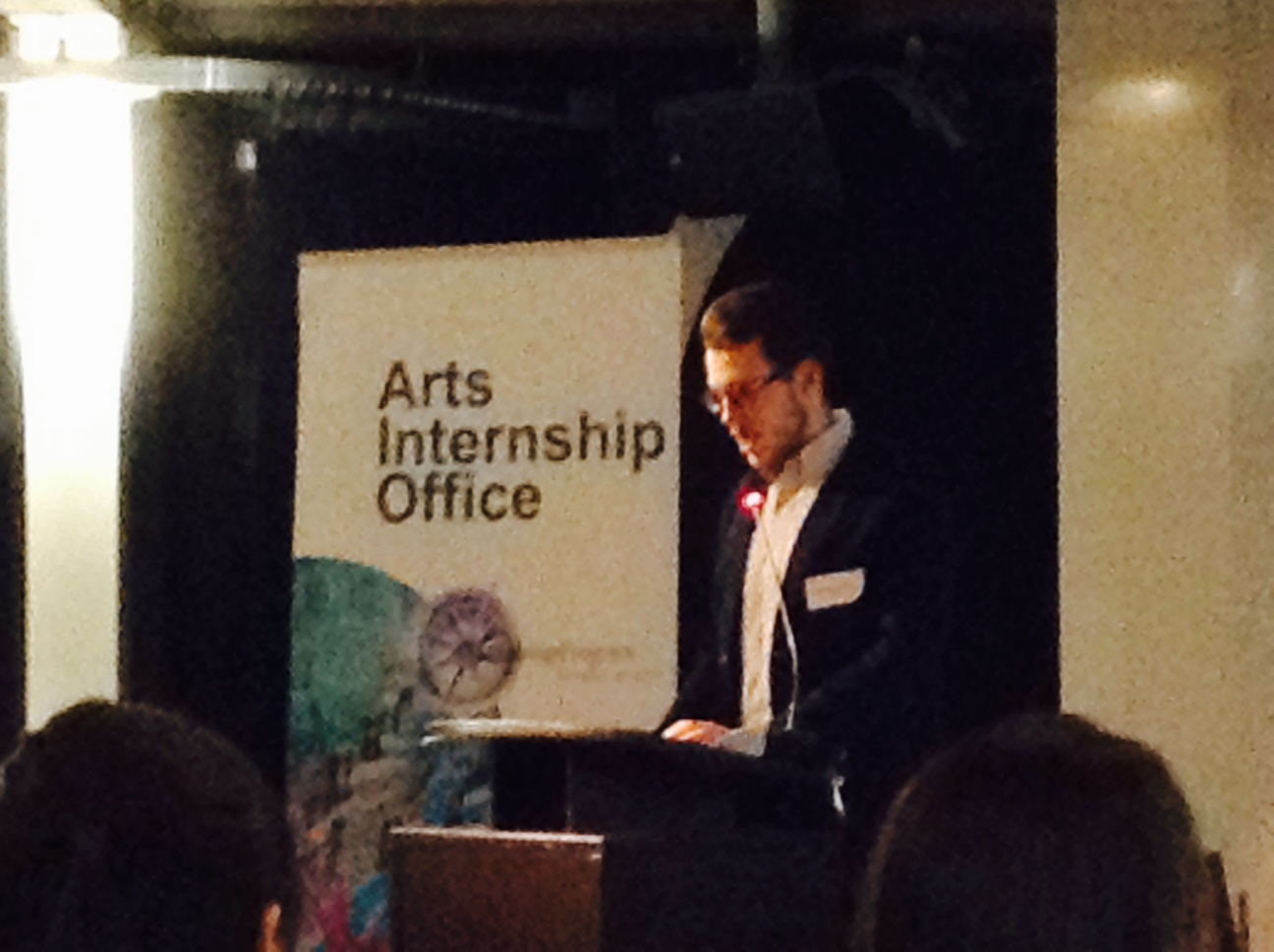.txtLAB Intern Fedor Karmanov speaks at ARIA Event