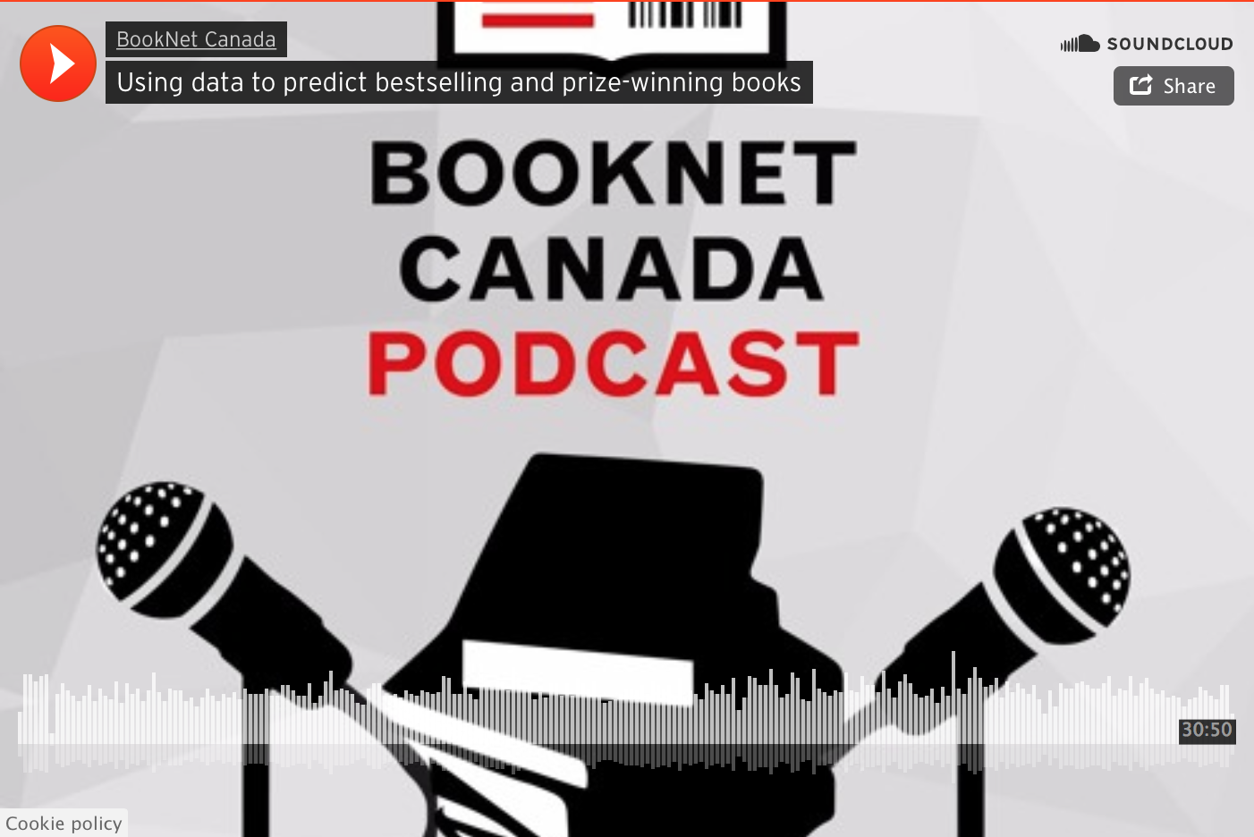Interview with BookNet Canada on algorithms, publishing and creative writing