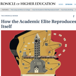 On Prestige Bias in the Chronicle of Higher Ed