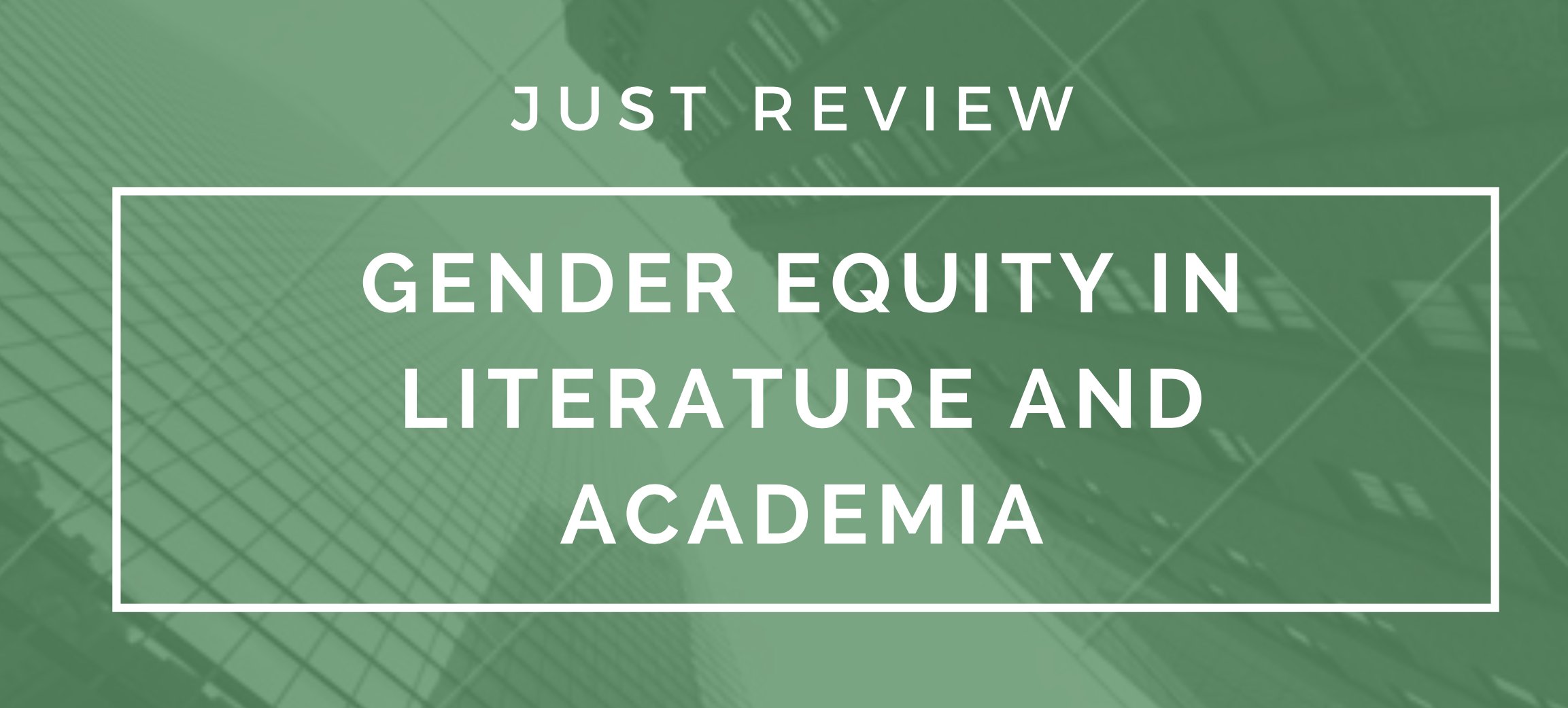Gender and Equity in Publishing