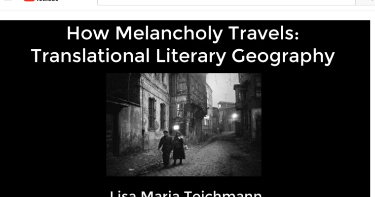 On Literary Geography, a Video