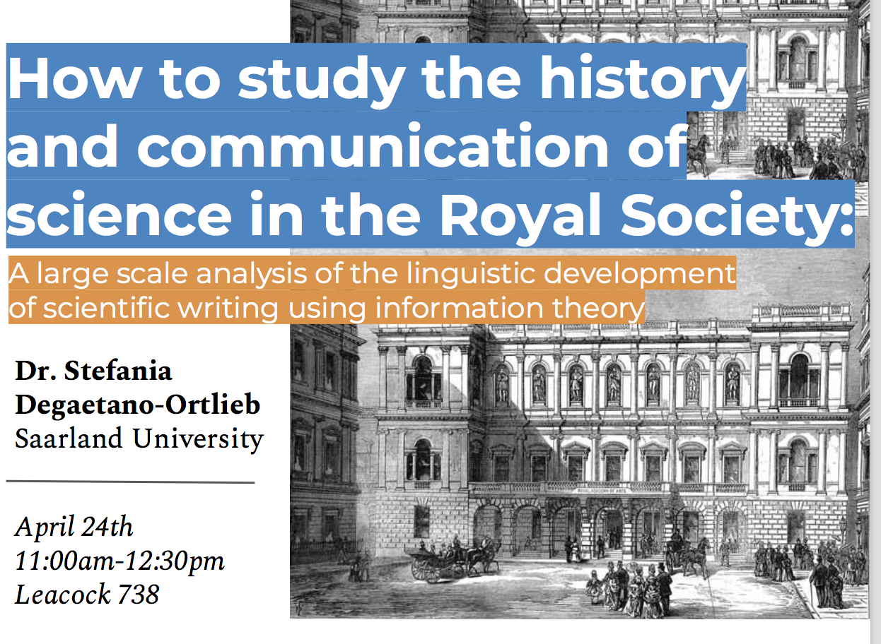 How to study the history of scientific communication at large scale