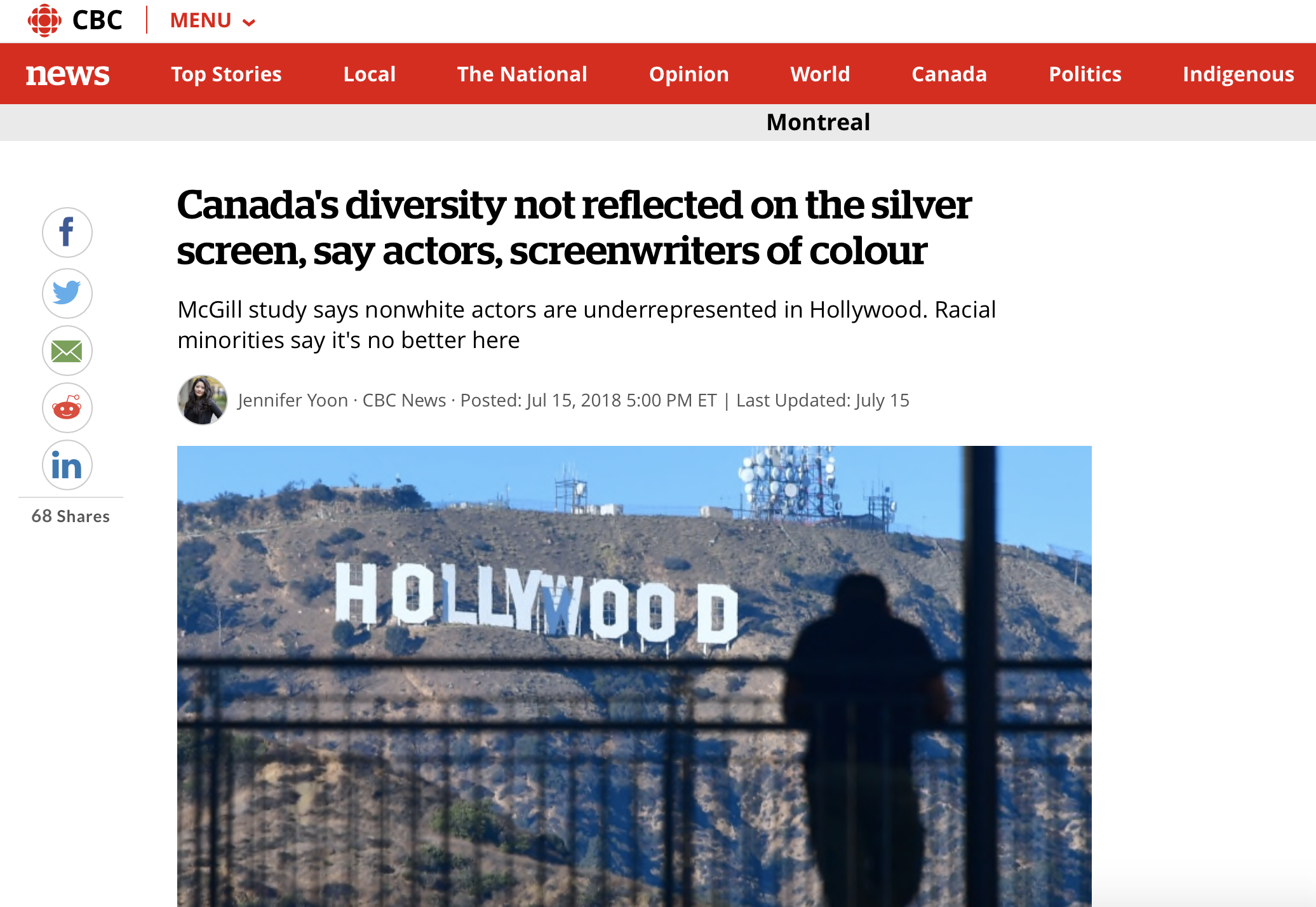 .txtLAB's Racial Lines featured by the CBC