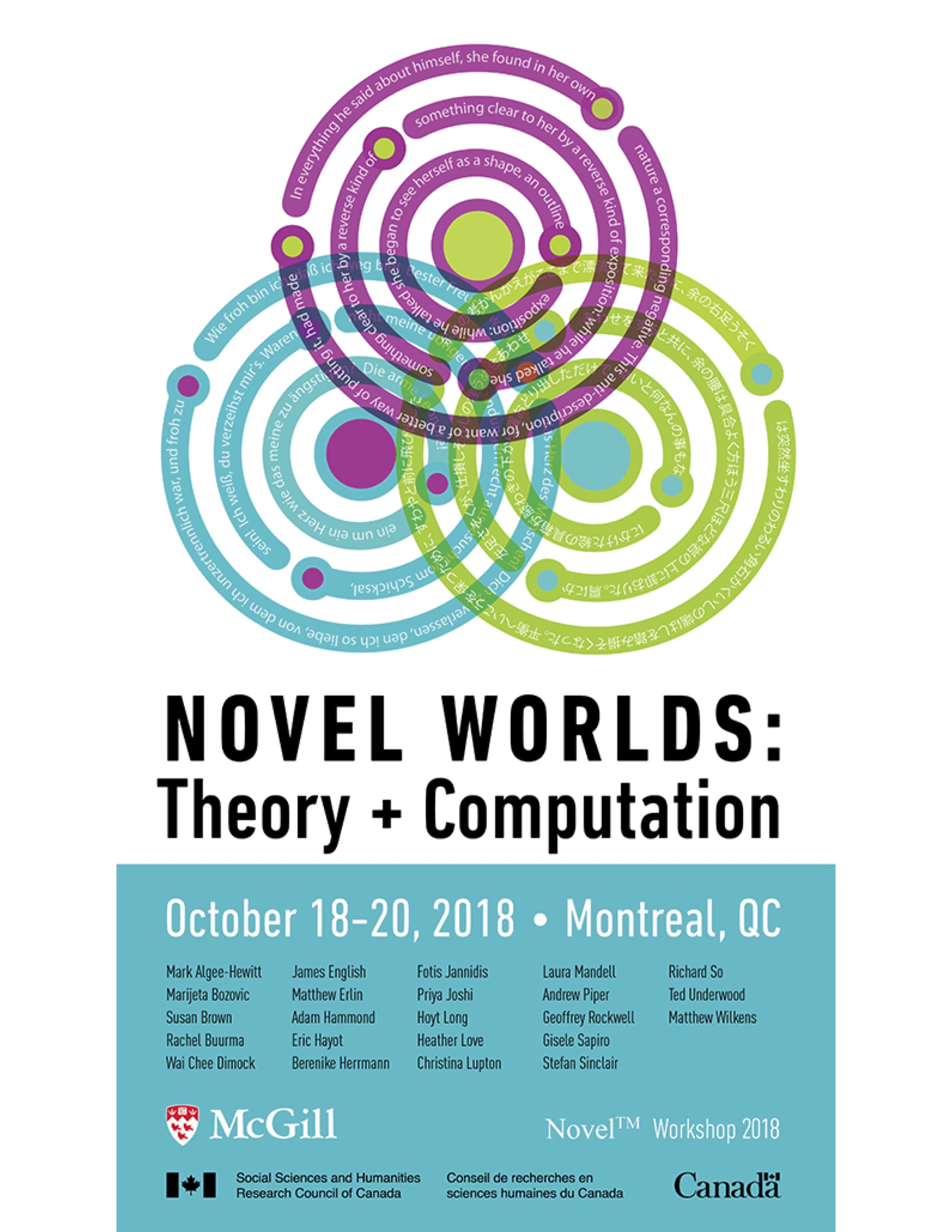 Novel Worlds: Theory + Computation