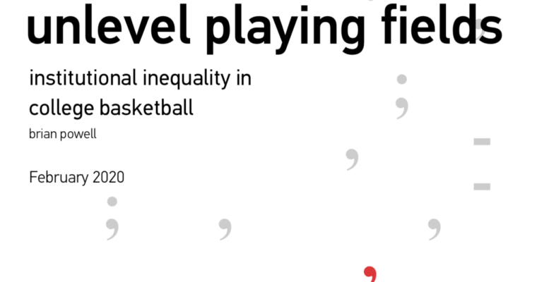 Are academics more unequal than athletics? A new collaboration by Brian Powell